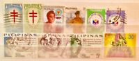 PHILIPPINES STAMPS SOME OLDER SCARCE TAKEN FROM ALBUMS + STOCKBOOKS Lot 09190119