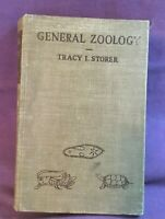*1943 Science Biology Book GENERAL ZOOLOGY Tracy I. Storer