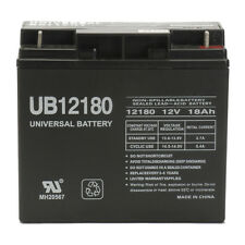 UPG 12V 18AH SLA Battery Replacement for R & D Batteries 5391, 5391F