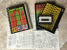 BBC Micro Welcome pack cassette tape & manual, User guide, Circuit diagram