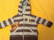 Disney at George boys Winnie the Pooh Tigger Long sleeve Hoodie top 3-6 months