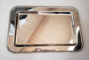 """Antique/Vintage Middletown Silverware Silverplate Platter Tray 15"""" USA"""