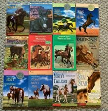 LOT OF 12 HORSE BOOKS ~ MARGUERITE HENRY~ JUSTIN MORGAN BRIGHTY SEA STAR MUSTANG