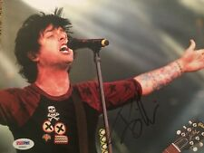 BILLIE JOE ARMSTRONG Autographed Signed 8x10 GREEN DAY Photo PSA DNA Certified
