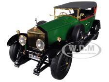 ROLLS ROYCE PHANTOM I GREEN W/ BLACK INTERIOR 1/18 DIECAST CAR BY KYOSHO 08931 G