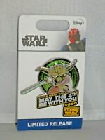 LIMITED EDITION Disney May The 4th Be With You Yoda Pin - Star Wars 2020 NEW