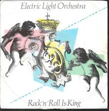 """45 TOURS / 7"""" SINGLE--ELECTRIC LIGHT ORCHESTRA--ROCK 'N' IS KING--1983"""