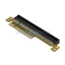 NEW PCI-E Express 8X to 16X Adapter Riser Card Durable Without Extended Cable