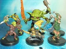 Dungeons & Dragons Miniatures Lot  Goblin Mutant Goblin Alchemist Lair !!  s116