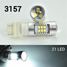 Parking Light T25 3157 3057 4157 Peformance Auto 21 SMD LED White B1 For Dodge A
