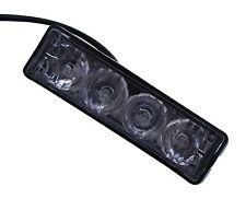 LED Light Head Amber Mini Strobe Warning Beacon Hazard Blinker