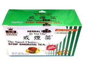 STOP SMOKING HERBAL TEA | 100% Natural | Royal King | 20 Teabags