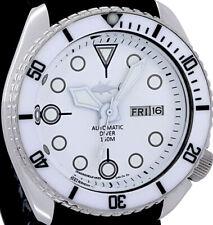 Vintage SEIKO diver White MOP dial & MACE hands MOD Genuine 6309 case & movement