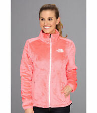 New Womens Ladies The North Face Fleece Full Zip Jacket Osito Pink Large
