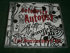Fast American Rock N' Roll Celebrity Autopsy~2008 Punk Rock CD~FAST SHIPPING!!!