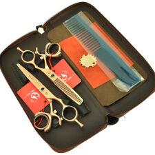 6 inch Swivel Thumb Hair Cutting Scissors Barber Hairdressing Thinning Shears