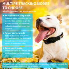 Waterproof Smart GPS Pet Locator Universal GPS Location Collar Fit For Cats Dogs
