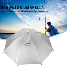 Foldable Head Umbrella Hat Cap Golf Outdoor Sun Protection Headwear Fishing Camp