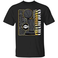 Basketball Finals Champions 2020 Los Angeles Lakers 2020 Signature T-Shirt S-4XL
