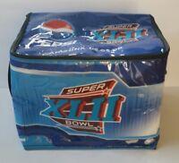 Vintage Pepsi Cola SUPER BOWL XLII Patriots Giants Soft Sided Cooler Tom Petty
