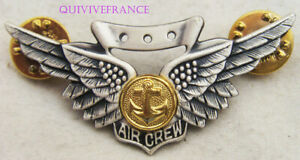IN16577 - BADGE MARINE CORPS AIRCREW WINGS USN