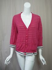 Marc By Marc Jacobs Pink Cardigan Sweater women Top size L
