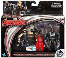 Marvel Comics Ultron Avengers FALCON & HAWKEYE Movie 2 pack 3.75 toy figures