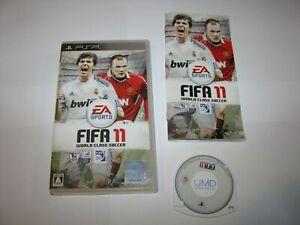 FIFA 11 World Class Soccer Playstation Portable PSP Japan import US Seller