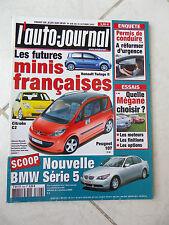 L'Auto-Journal 2002 No 606 Renault Megane BMW Z4 Alfa 147 Gta Mercedes AMG Getz