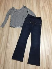Umstandskleidung H&M Gr. M 38/40; Schwangerschaft Hose mit Shirt