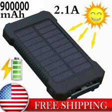 New Power Bank 900000mAh 2 USB Portable External Battery Huge Capacity Charger