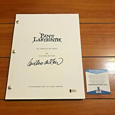 GUILLERMO DEL TORO SIGNED PAN'S LABYRINTH FULL MOVIE SCRIPT w/ BECKETT BAS COA