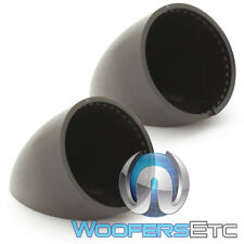 FOCAL ANGLE MOUNT TWEETER PODS FOR SELECT TWEETER SIZES CAR AUDIO NEW PAIR