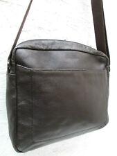 -AUTHENTIQUE grand sac bandoulière  LE TANNEUR cuir TBEG vintage bag