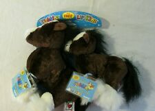 Web Kinz & Lil Kinz Clydesdale Horse Brand New Sealed Tag Webkinz Rare Set
