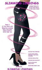 Ladies control slimming leggings support wear in black helps reduce cellulite