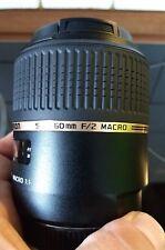 Objektiv Tamron SP 60mm F2 Macro 1:1 Di II für Sony A-Bajonett /A-Mount