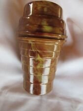 Rochow Swirl Mixer Shaker Opaque Chocolate Swirl design