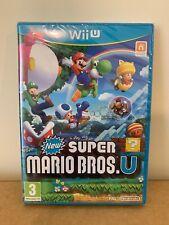 New Super Mario Bros U | BRAND NEW & SEALED | Nintendo Wii U | FREE POST