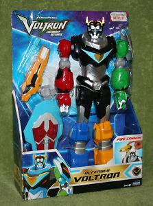"Netflix Voltron Legendary Defender 12.5"" Inch Figure w/ Firing Cannon and Shield"