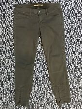 Vince Whipped Skinny Lace Up Jeans Cotton Stretch Mink Color Sz 28