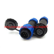 Sd16 4pin Waterproof Power Connectors,Ip68 Electrical Solar Panel Led Connector