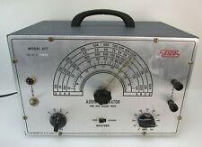 Working Eico 377 Vacuum Tube Audio Signal Generator Tested Tubes
