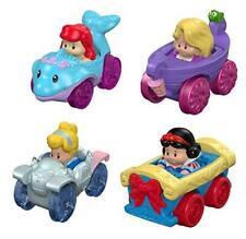 Disney Princess Wheelies Cars Set of 4 Ariel Cinderella Snow White & Rapunzel S4