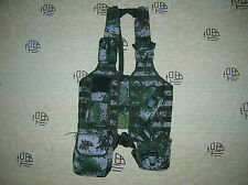 07's series China PLA Army Woodland Digital Camo Combat Tactical Vest,Set,F