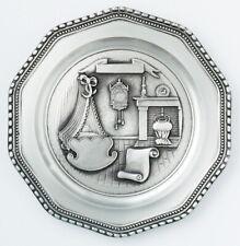 Geburtsteller aus Zinn inklusive Wunsch-Gravur,Taufe, Geburtstag, Geschenk