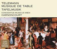 Nikolaus Harnoncourt - Telemann: Tafelmusik [New CD]
