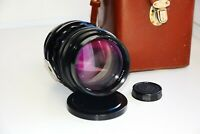 RARE KMZ BLACK JUPITER-6-2 Sonnar Copy 2.8/180mm SOVIET SLR lens M39 SUPER