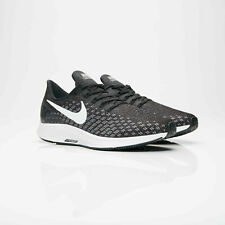 NIKE AIR ZOOM PEGASUS 35 RUNNING SHOES - ALL SIZES AVAILABLE - BLACK/GREY/WHITE