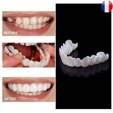Silicone Protection Simulation Dent Blanche Blanchiment Dentaire Cosmétique Dur
